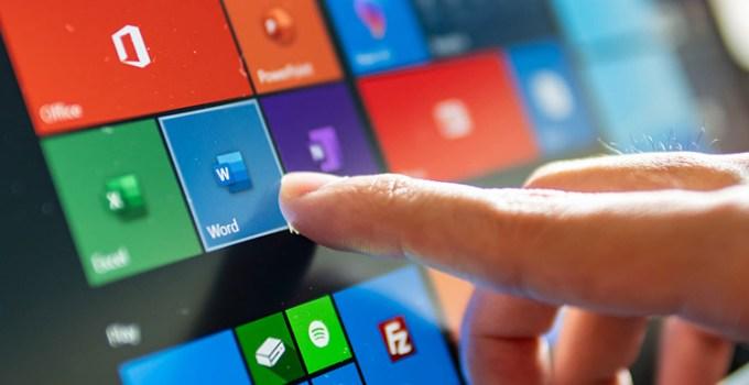 Tampilan Tema Baru Windows 10