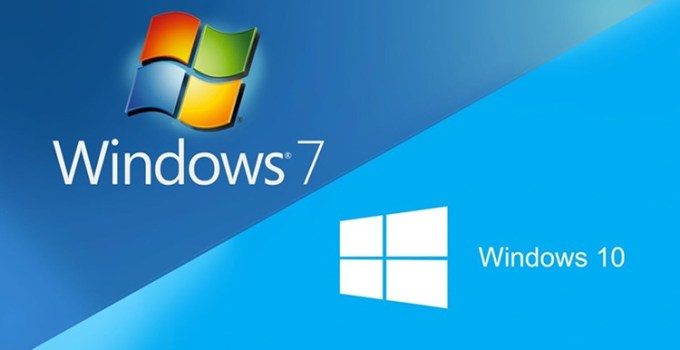 Windows 7 dan Windows 10