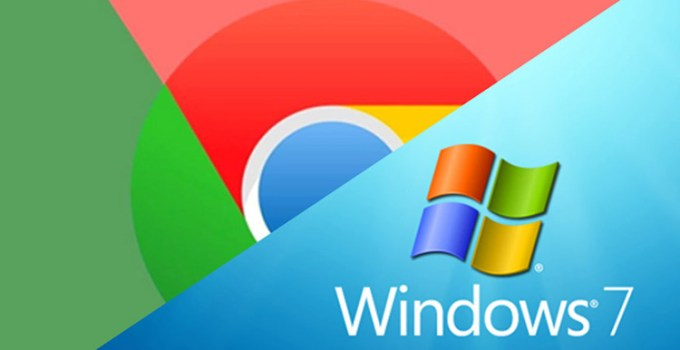 Browser Chrome di Windows 7