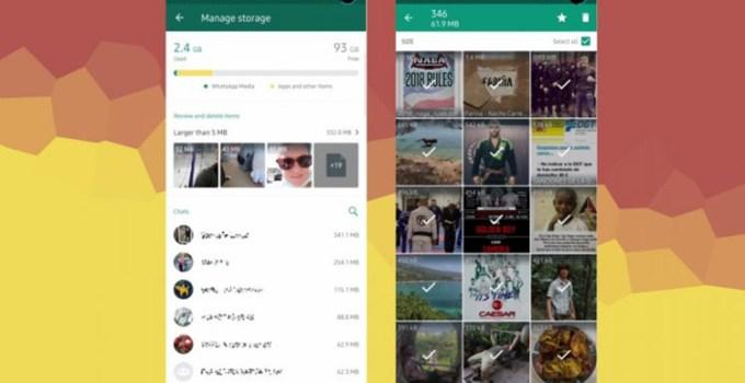 Fitur Pengaturan Penyimpanan File Media Whatsapp