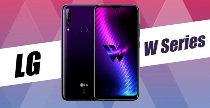 Smartphone LG W11 W31 W31 Plus