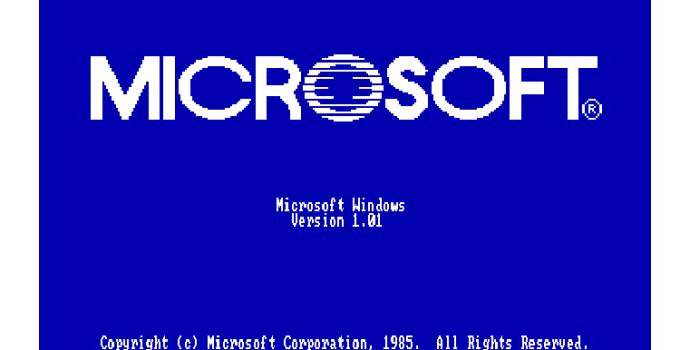 Windows 10 Versi 1.01