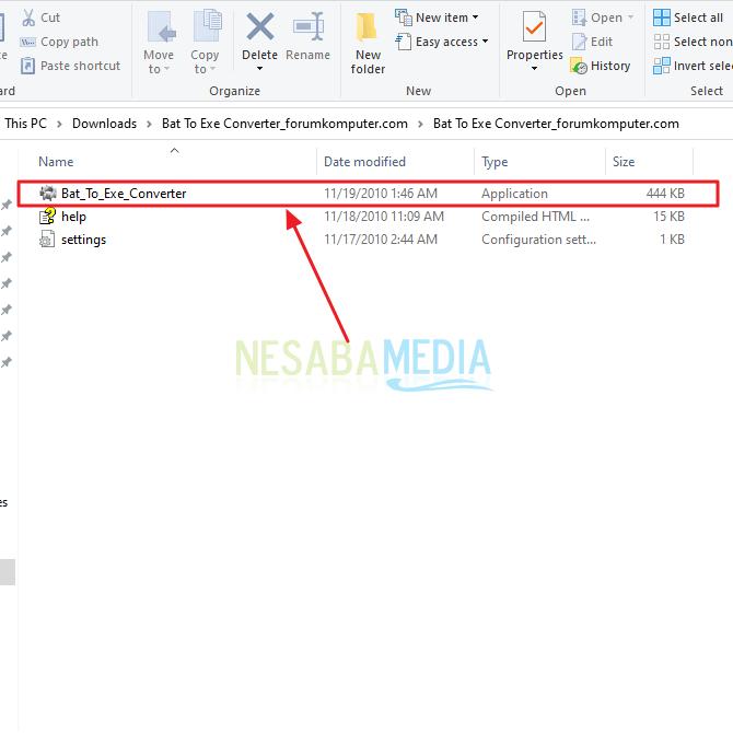 Cara Merubah File BAT Menjadi EXE