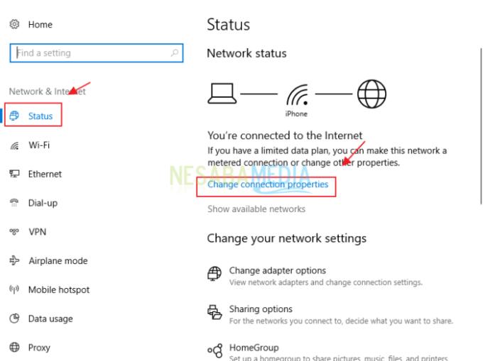 cara mempercepat koneksi wifi indihome di Windows 10