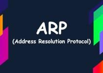 Apa itu ARP? Mengenal Pengertian ARP