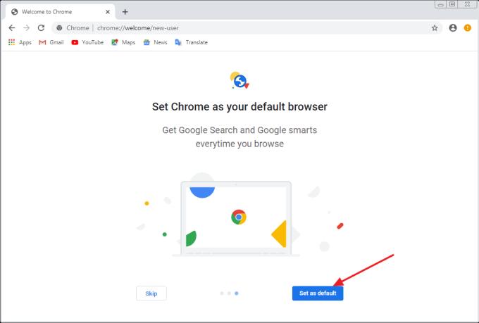 cara install chrome di laptop