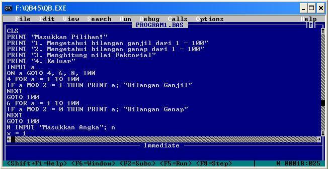 Pengertian Bahasa Pemrograman BASIC