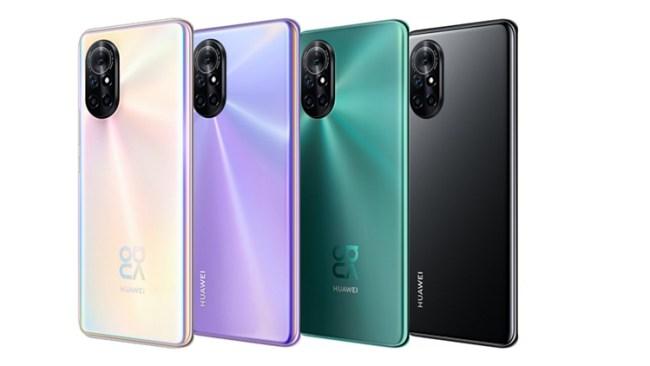 Pilihan Warna Smartphone Huawei Nova 8 Pro