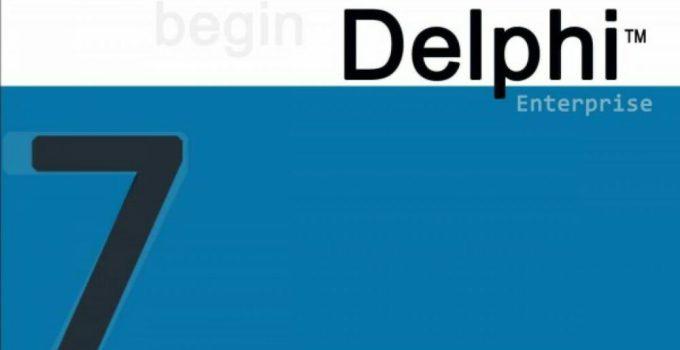 Cara Instal Delphi 7 di Windows 10