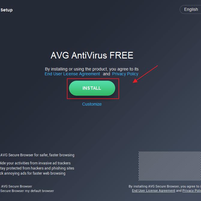 Cara Install AVG Antivirus untuk Pemula