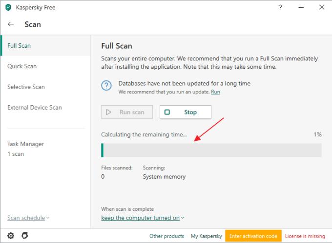 Cara Scanning Virus dengan Kaspersky Antivirus