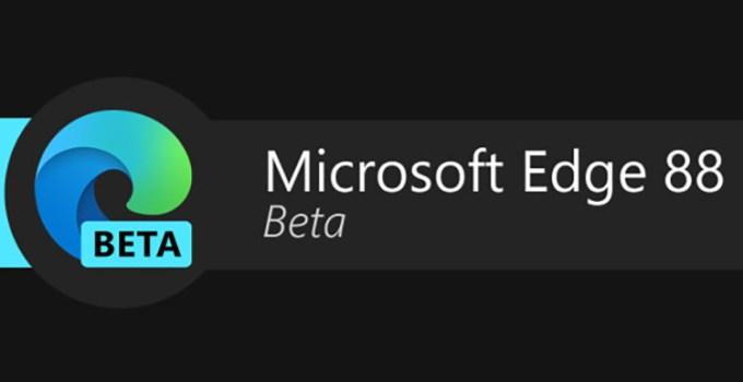 Browser Micorosft Edge 88 Windows 10