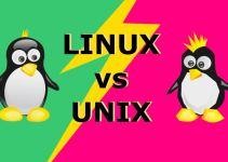 Perbedaan Linux dan Unix