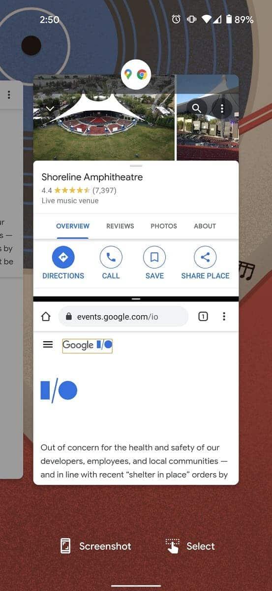 Tampilan App Pairs Fitur Baru Android 12