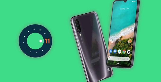 Xiaomi Mi A3 Android 11 Crash