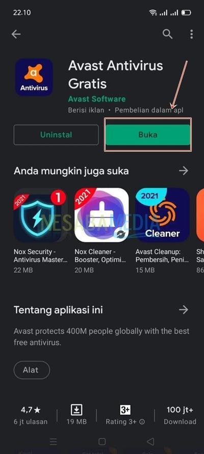 cara menghapus malware di android
