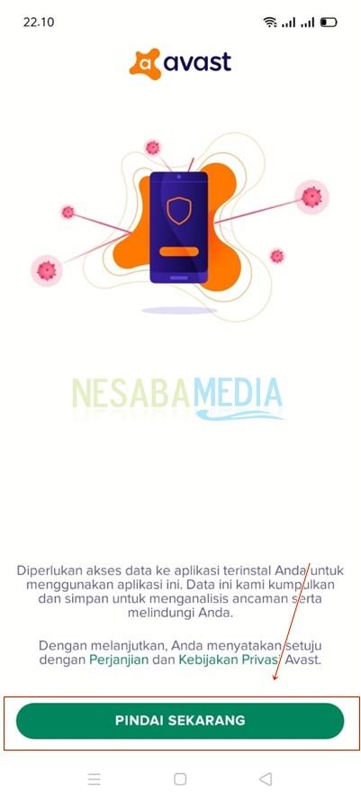 cara menghapus malware di hp android