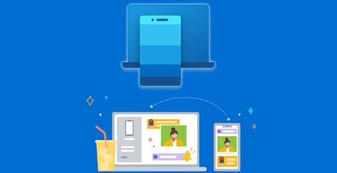 Aplikasi Windows 10 Your Phone