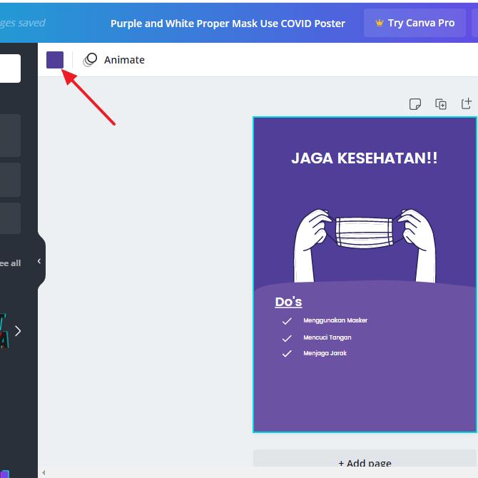 cara membuat poster di laptop / pc