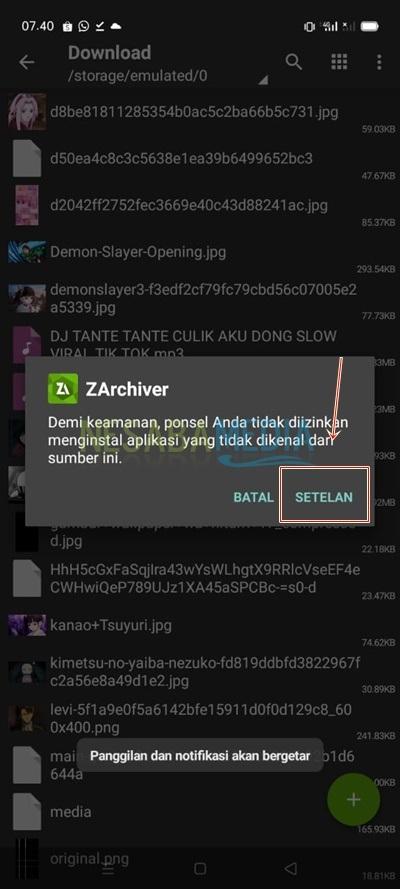 Cara Menginstall XAPK di HP Android