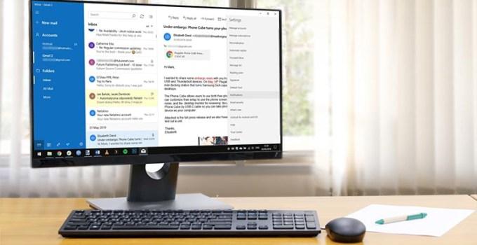Aplikasi Mail Windows 10