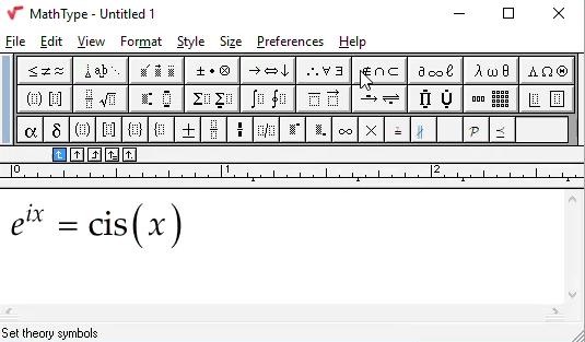 Apa Itu MathType