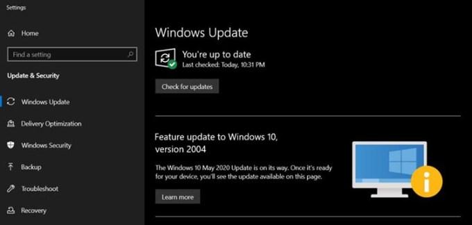 Pemberitahuan Perangkat PC Windows Belum Siap