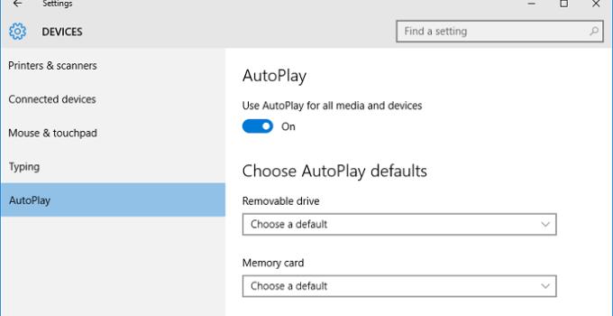 Cara Mematikan Autoplay atau Autorun Windows 10 dengan Mudah