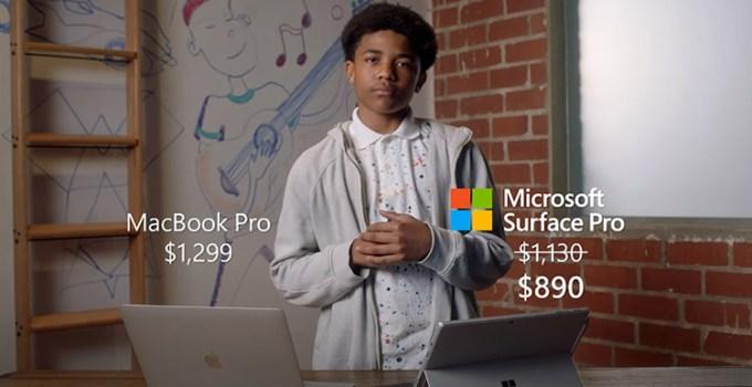Iklan Microsoft Tuai Cibiran, Bandingkan iPad Pro dengan Surface Pro 7