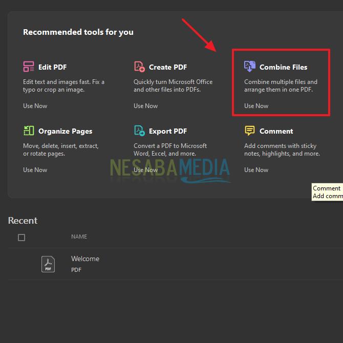Cara Menggabungkan File PDF Offline di Laptop