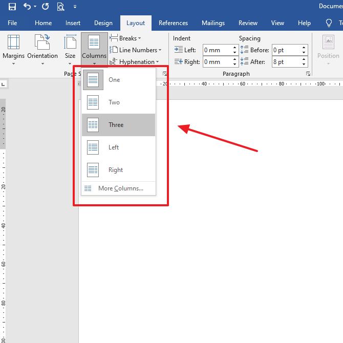 Cara Membuat Brosur di Microsoft Word 2016