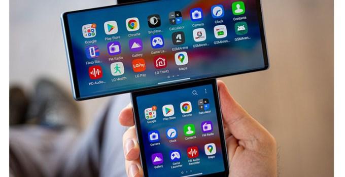 Smartphone Konsep LG Wing