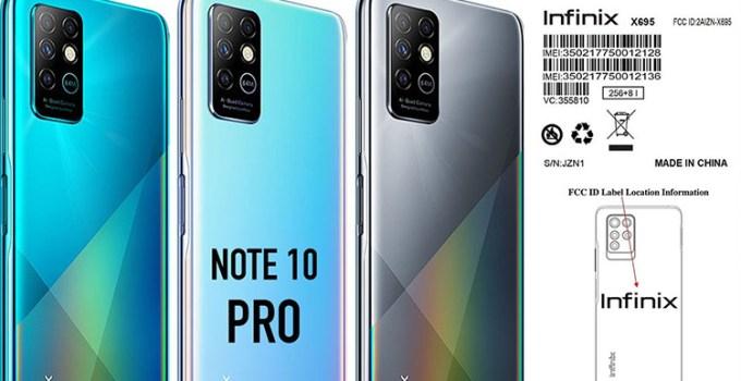 Penampakan Infinix Note 10 Pro Bocor ke Internet