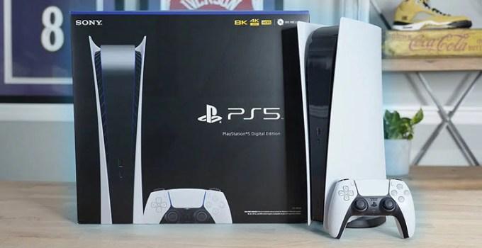 Sony Siapkan Model Baru PS5 Digital Edition Yang Lebih Ringan
