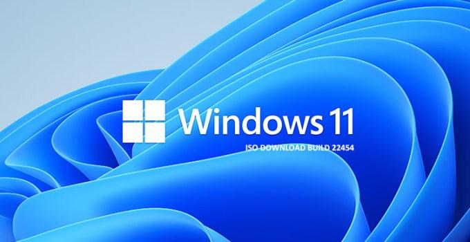File ISO Windows 11 Build 22454 Telah Dirilis Microsoft