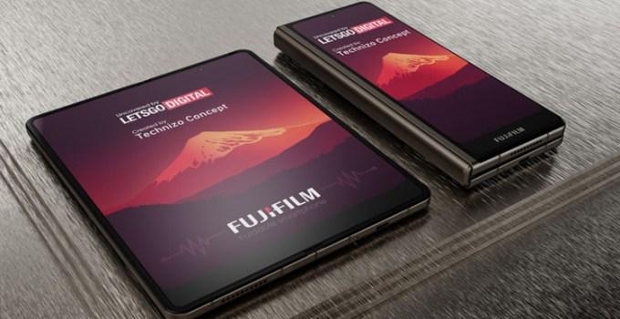Fujifilm Siapkan Desain Smartphone Lipat Dengan Stylus Pen