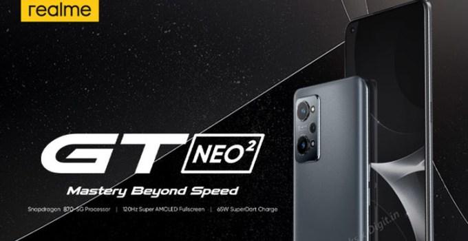 Realme GT Neo 2, Render dan Spesifikasinya Bocor di Internet