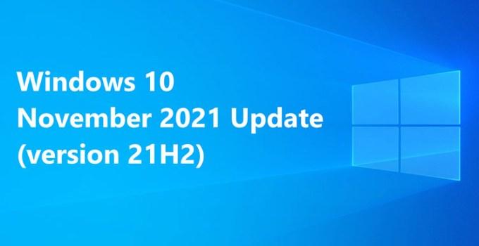 Microsoft Siapkan Pembaruan Utama Windows 10 21H2 Bulan Depan