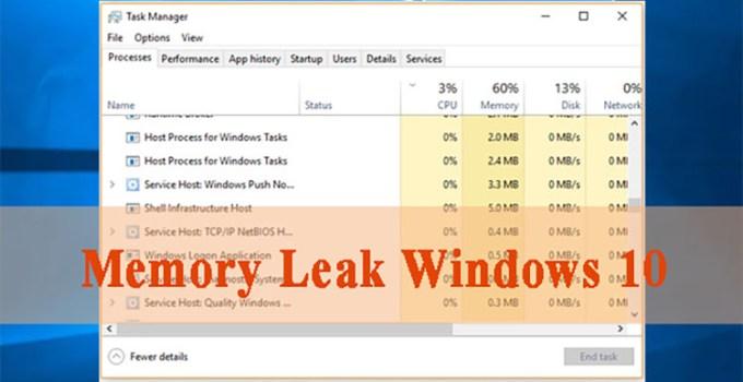 Pembaruan Windows 10 KB5006738 Perbaiki Memory Leak dan Bug Kritis Lainnya