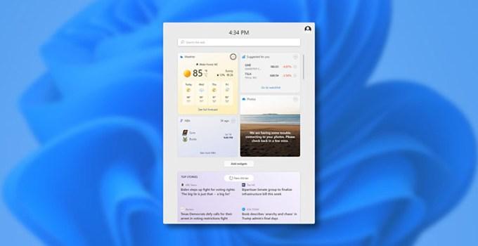 Yang Baru di Windows 11 Widgets