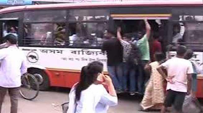 मोटर परिवहन श्रमिक संघ का 24 घंटे का चक्का बंद