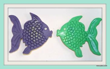 Angle Fish Cookies- min 10 Pieces