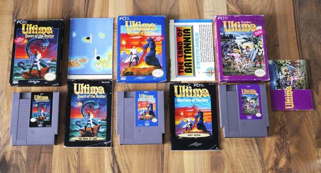 Ultima für das NES (NTSC US) (Highlights und Kurioses)
