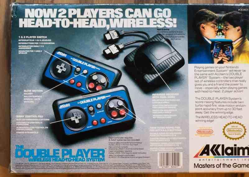 Akklaim Double Player Wireless Controller 02 (Highlights und Kurioses)