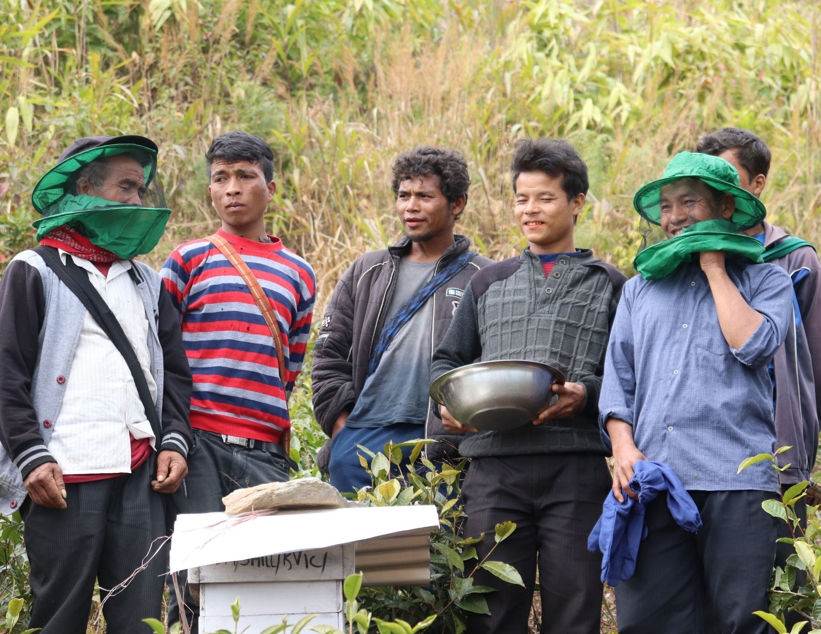 Synroplang Beekeepers group of Mawpynthymmai (East Khasi Hills)