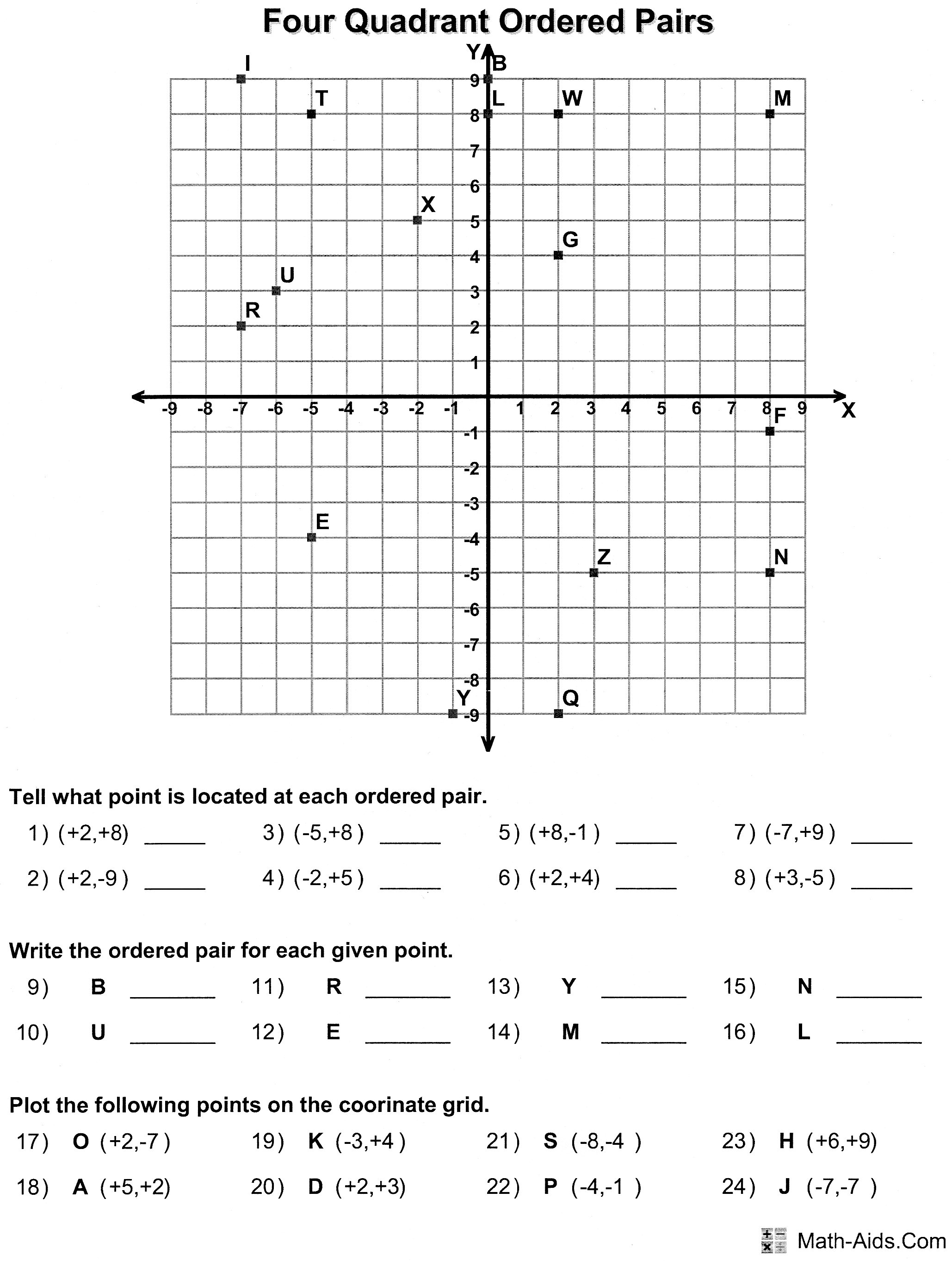 Tails Graphing Practice Worksheet