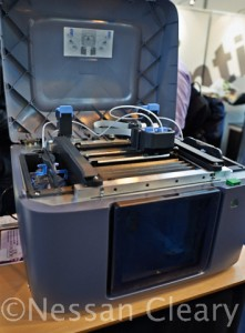 Laserlines showed this Mojo 3D printer.