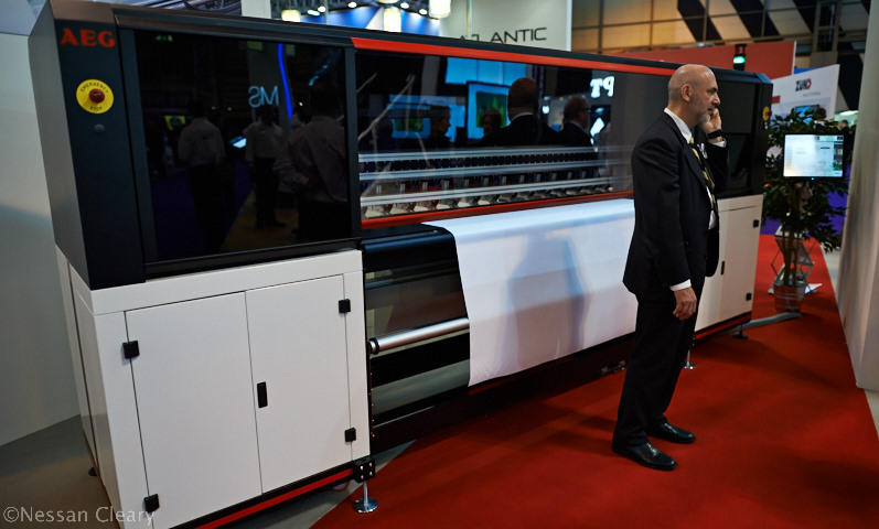 AEG is hoping to make a splash in the printer market with the Voyager Pro, a hybrid UV printer.