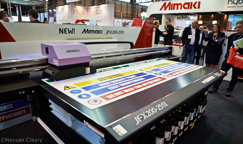 Mimaki's new JFX200-2513 is both compact and affordable.