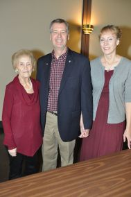 Roger, wife Linda and mother Mary Rotschaefer #1
